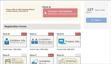 Exhibitors Website